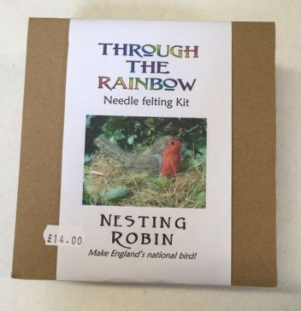 Through the Rainbow Needle Felting Robin Kit